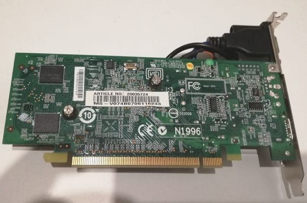 MSI nVidia GeForce 8600GT - 256MB - PCI-express